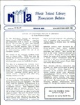 Bulletin of the Rhode Island Library Association v. 61, no.1-2