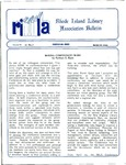 Bulletin of the Rhode Island Library Association v. 61, no. 3