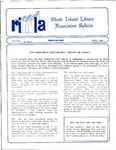 Bulletin of the Rhode Island Library Association v. 61, no. 4