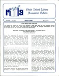 Bulletin of the Rhode Island Library Association v. 61, no. 5