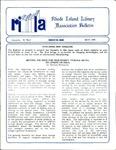 Bulletin of the Rhode Island Library Association v. 61, no. 5 by RILA