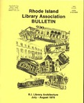Bulletin of the Rhode Island Library Association v. 51, no. 1