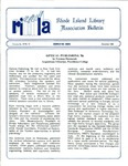 Bulletin of the Rhode Island Library Association v. 59, no. 12