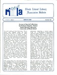 Bulletin of the Rhode Island Library Association v. 59, no. 11 (incorrect v. 60, no. 9 on newsletter)