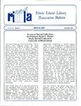 Bulletin of the Rhode Island Library Association v. 59, no. 11 (incorrect v. 60, no. 9 on newsletter) by RILA