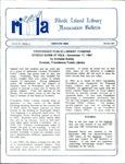 Bulletin of the Rhode Island Library Association v. 60, no. 3 by RILA