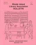 Bulletin of the Rhode Island Library Association v. 51, no. 2