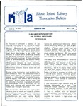 Bulletin of the Rhode Island Library Association v. 60, no. 5