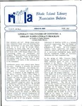 Bulletin of the Rhode Island Library Association v. 60, no. 6
