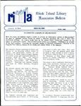 Bulletin of the Rhode Island Library Association v. 61, no. 6 by RILA