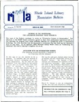 Bulletin of the Rhode Island Library Association v. 61, no. 7-8