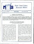 Bulletin of the Rhode Island Library Association v. 61, no. 7-8 by RILA