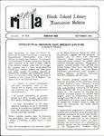 Bulletin of the Rhode Island Library Association v. 61, no. 9 by RILA