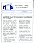 Bulletin of the Rhode Island Library Association v. 61, no. 12