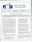 Bulletin of the Rhode Island Library Association v. 61, no. 12 by RILA