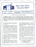 Bulletin of the Rhode Island Library Association v. 62, no. 1-2