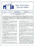 Bulletin of the Rhode Island Library Association v. 62, no. 3 by RILA