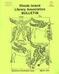 Bulletin of the Rhode Island Library Association v. 51, no. 8