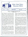 Bulletin of the Rhode Island Library Association v. 62, no. 4