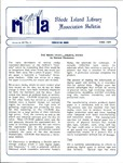 Bulletin of the Rhode Island Library Association v. 62, no. 6
