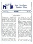 Bulletin of the Rhode Island Library Association v. 62, no. 6 by RILA
