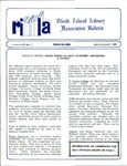 Bulletin of the Rhode Island Library Association v. 62, no. 7-8