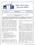 Bulletin of the Rhode Island Library Association v. 62, no. 9