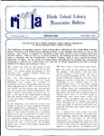 Bulletin of the Rhode Island Library Association v. 62, no. 10 by RILA