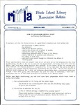 Bulletin of the Rhode Island Library Association v. 62, no. 11