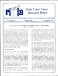 Bulletin of the Rhode Island Library Association v. 62, no. 12