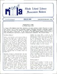 Bulletin of the Rhode Island Library Association v. 63, no. 1-2