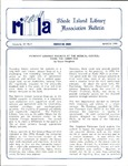 Bulletin of the Rhode Island Library Association v. 63, no. 3