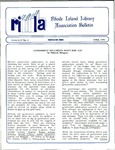 Bulletin of the Rhode Island Library Association v. 63, no. 4