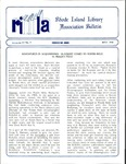 Bulletin of the Rhode Island Library Association v. 63, no. 5