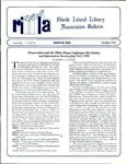 Bulletin of the Rhode Island Library Association v. 64, no. 10