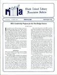 Bulletin of the Rhode Island Library Association v. 65, no. 3-4 by RILA