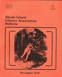 Bulletin of the Rhode Island Library Association v. 52, no. 4 by RILA