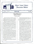 Bulletin of the Rhode Island Library Association v. 66, no. 5