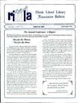 Bulletin of the Rhode Island Library Association v. 66, no. 7-8