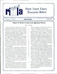 Bulletin of the Rhode Island Library Association v. 66, no. 10