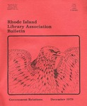Bulletin of the Rhode Island Library Association v. 52, no. 5