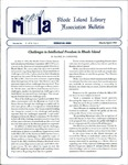 Bulletin of the Rhode Island Library Association v. 67, no. 3-4