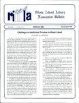 Bulletin of the Rhode Island Library Association v. 67, no. 3-4 by RILA