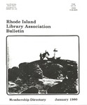 Bulletin of the Rhode Island Library Association v. 52, no. 6