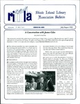 Bulletin of the Rhode Island Library Association v. 68, no. 7-8 by RILA