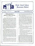 Bulletin of the Rhode Island Library Association v. 68, no. 11-12