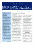 Bulletin of the Rhode Island Library Association v. 69, no. 1-2 & 3-4 by RILA