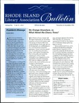 Bulletin of the Rhode Island Library Association v. 69, no. 11-12