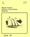 Bulletin of the Rhode Island Library Association v. 53, no. 1