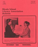 Bulletin of the Rhode Island Library Association v. 53, no. 4